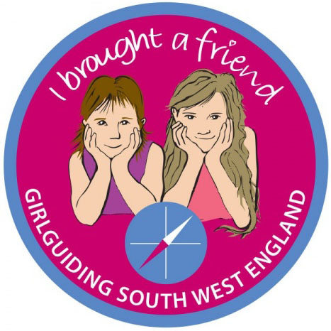 'I brought a friend' badge