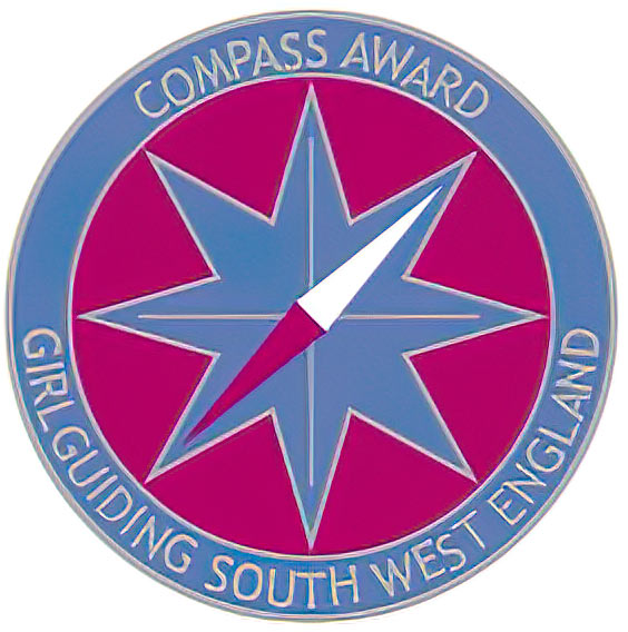 Compass Award badge